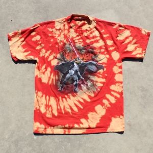 Spiral Dyed Darth Vader T Shirt